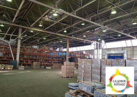 Сдается отапливаемое складское помещение 3000 м2. Ворота на нулевой от - Фото 1