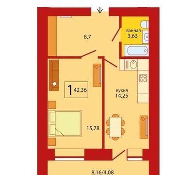 Продажа квартиры, Тюмень, Ул. Мельникайте, Купить квартиру в Тюмени, ID объекта - 329650571 - Фото 1