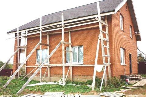 Жилой новый кирпич дом 146 кв.м, 2-х эт, зем. уч 6 сот, г. Сергиев Посад - Фото 1