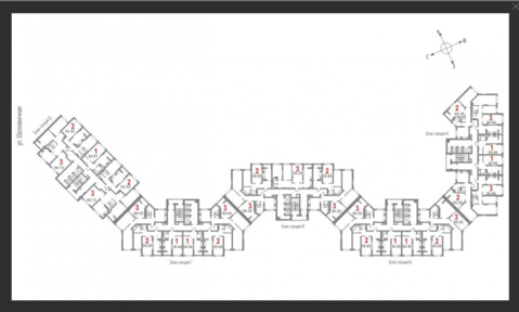 2 комнатная квартира в ЖК Царицынский 4 - Фото 3