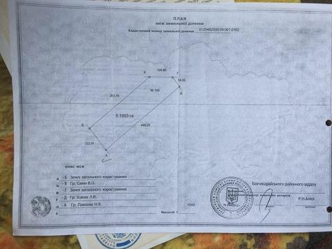 Продается участок 6га, сельхоз. угодия, с. Тургеневка, Бахчисарайский - Фото 2