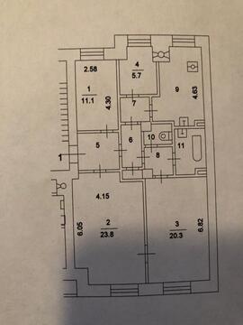 Продам 4-х (четырех)комнатную квартиру: г. Москва, ул. Тверская, дом 4 - Фото 5