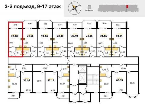 ЖК «Молодежный» , Владимир, Северная ул, д.2а, Квартира на продажу - Фото 2