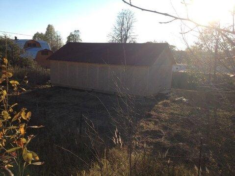 Продаётся земельный участок 12 соток в д. Новая, со строением - Фото 4
