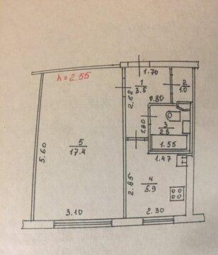 Продается 1 комн. квартира 30 кв.м. Спортивный пер.16 - Фото 3