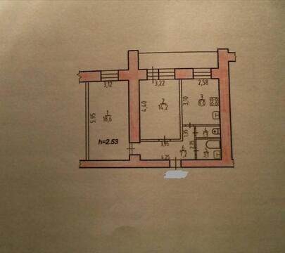 Продается квартира 54 кв.м, г. Хабаровск, Квартал дос - Фото 4