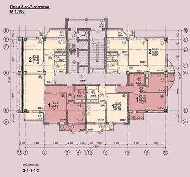 Шаландина 5а, от подрядчикаоднокомнатная - Фото 3