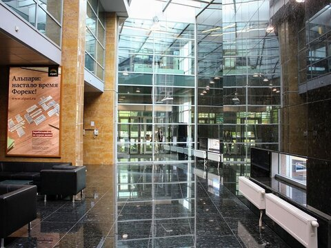 Престижный офис 1276 м2 (этаж) в БЦ кл. В+, ТТК - Фото 2