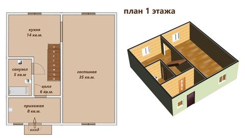 Продажа дома, Отрадное, Кировский район, 17-я линия - Фото 3