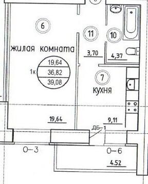 Продаю1комнатнуюквартиру, Самара, Аэродромная улица, 102, Купить квартиру в Самаре по недорогой цене, ID объекта - 321216841 - Фото 1