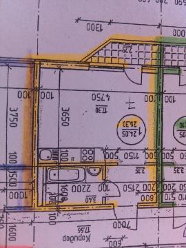 Октябрьская 202, новый дом,1 ком квартира 27 кв
