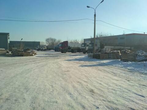Стоянка для грузовиков район чтз