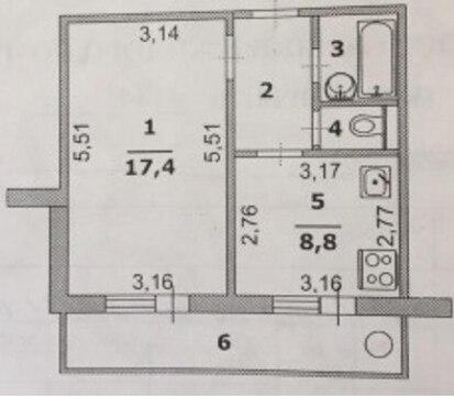 1-к квартира на Хар. горе - Фото 4