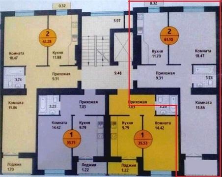 Продажа квартиры, Калининград, Ул. Ю.Гагарина - Фото 1