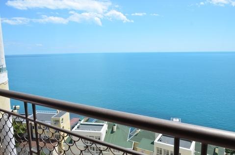 Апартаменты в Никите, свой пляж, вид на море - Фото 5