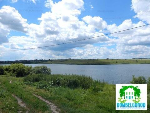 Участок на берегу пруда г.Строитель - Фото 1