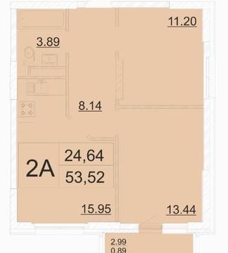 Квартира по адресу. ЖК Столичный ул Чистопольская 88/2 - Фото 2