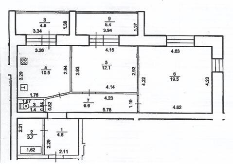 Комната 12,1 кв.м. в Сипайлово - Фото 5