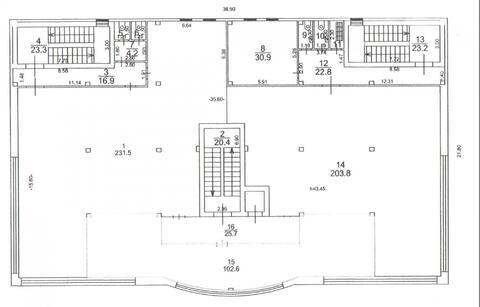 Торговое помещение 102,6 кв.м. г. Клин
