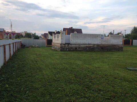 Продажа участка с новым фундаментом в Волоколамске Шаховской проезд - Фото 2