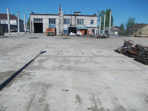 Открытая площадка под склад 4000 м2, Лодейное Поле - Фото 1