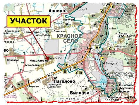 Дом, участок, Красное Село, 1 км, деревня Михайловка - Фото 5