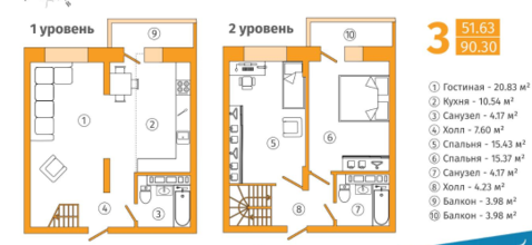 Продажа квартиры, Липецк, Ул. Фрунзе - Фото 1