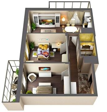 ЖК Green City продаеться двухкомнатная квартира в 5 минутах езды - Фото 3