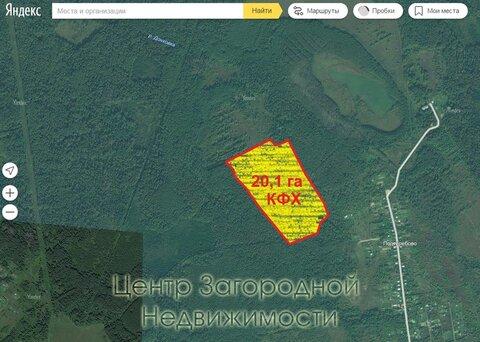 Участок, Ленинградское ш, 95 км от МКАД, Подтеребово. Ленинградское .