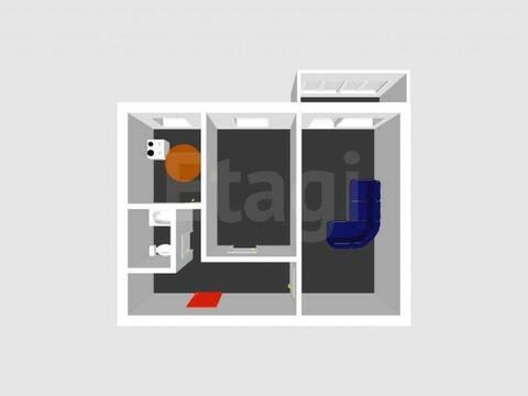 Продажа двухкомнатной квартиры на проспекте Октября, 18а в ., Купить квартиру в Стерлитамаке по недорогой цене, ID объекта - 320178023 - Фото 1