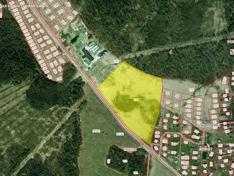 Продается земельный участок площадью 10 Га. М.О - Фото 1