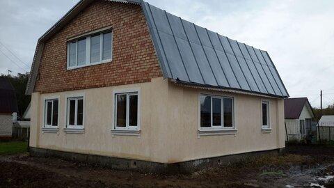 Отличная дача, новый дом 160 кв.м. - Фото 1