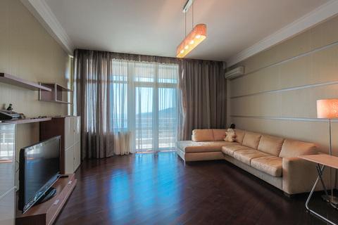 5-комнатная квартира с ремонтом, закрытый комплекс в Гурзуфе - Фото 1