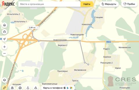 Земельный участок в д. Матвеевское - Фото 2