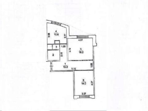 2-комн. квартира, Правдинский, ул Гер, 30к2 - Фото 1