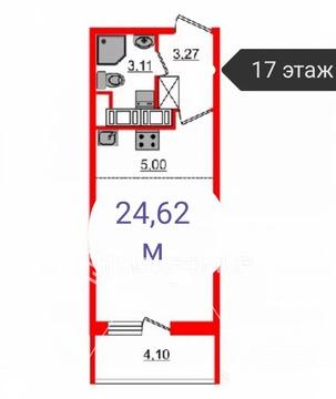 Объявление №60561773: Квартира 1 комн. Санкт-Петербург, Комендантский пр-кт.,