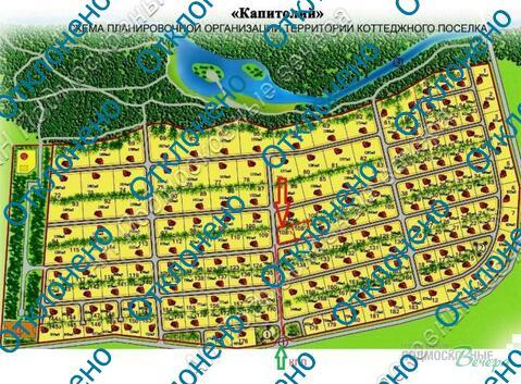 Киевское ш. 20 км от МКАД, Бараново, Участок 10.5 сот. - Фото 3