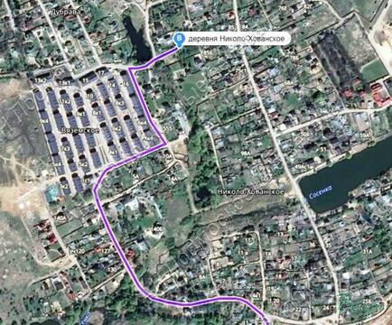 Калужское ш. 5 км от МКАД, Николо-Хованское, Участок 9 сот. - Фото 4