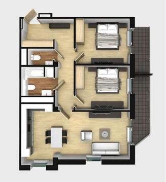 Продажа квартиры, Купить квартиру Рига, Латвия по недорогой цене, ID объекта - 314266643 - Фото 1