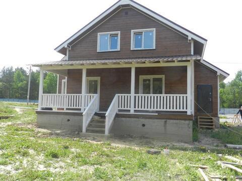 Загородный дом Машково магистральный газ в доме 9 сот у озера Машково - Фото 1