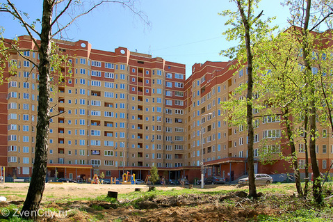 2к квартира 60,7 кв.м. Звенигород мкр. Пронина, д.2 - Фото 1