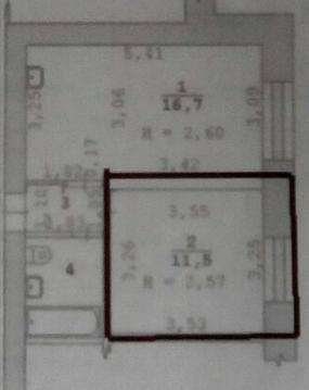 Комнаты, ул. Ключевская, д.18 - Фото 3
