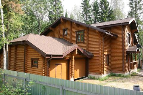 Загородный дом из бревна в лесу, Киевское ш, 28 км от МКАД - Фото 3