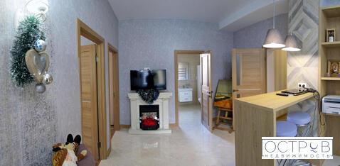 Просторная 2к квартира с отделкой в клубном доме в центре Ялты - Фото 2