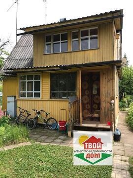 Продам дачу 80 кв.м. с баней в СНТ Митинка в 7 км от Обнинска - Фото 1