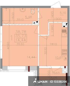 Продаю1комнатнуюквартиру, Тула, Ствольная улица, 30, Купить квартиру в Туле по недорогой цене, ID объекта - 321863139 - Фото 1