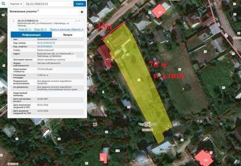 Продажа участка, Чертовицы, Рамонский район - Фото 2