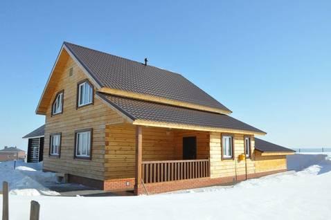 Строим дома из бруса по Татарстану - Фото 1