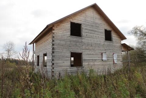 Дом 100 м2, Брус, 15 соток, Газ, д. Жуклино - Фото 2