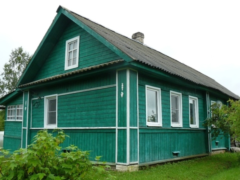 Дом с баней в д. Нарезка Любытинского р-на - Фото 1